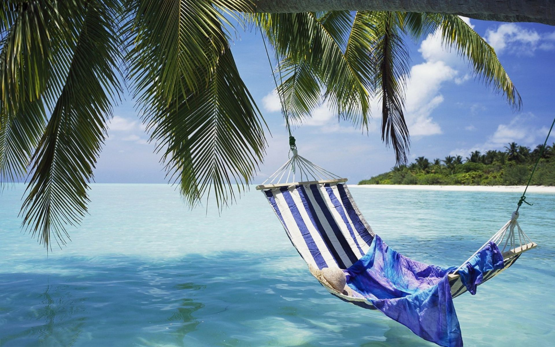Image For Tropical Beach Hammock Wallpapers Hd