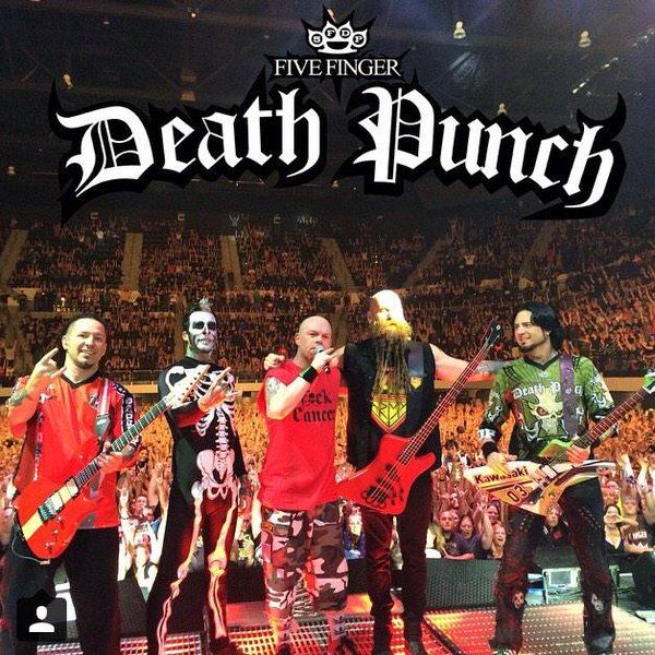Media Tweets by FiveFingerDeathPunch (@FFDP) | Twitter
