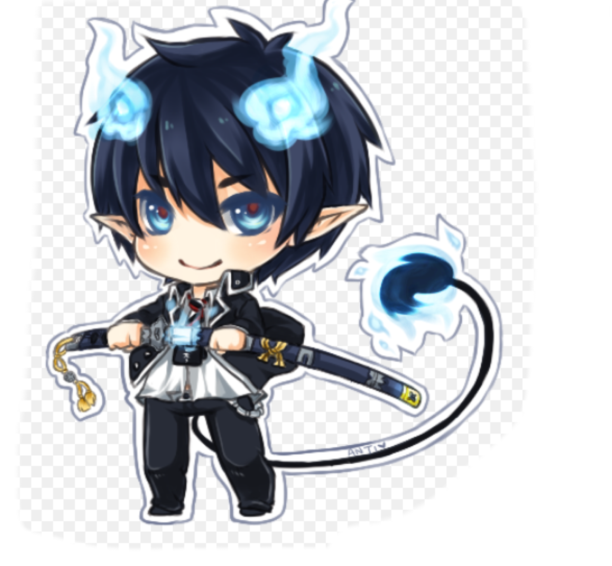 Pin by Llagaskids on Meh pics in 2019 Blue exorcist rin