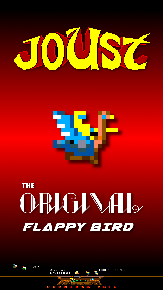 Joust arcade game phone wallpaper | Gaming | Games, Arcade Games