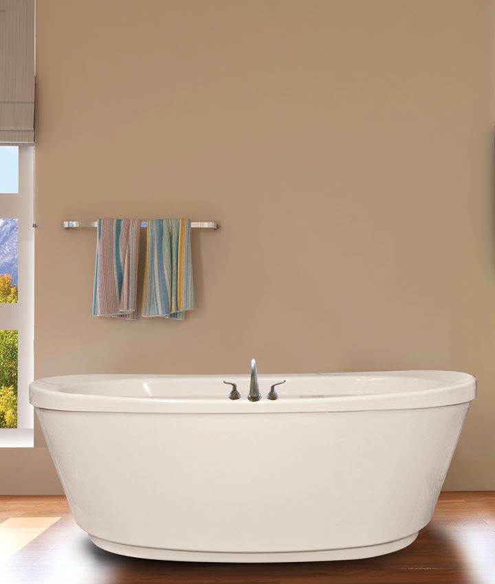 Ovale 66″ x 36″ Freestanding Soaker Tub Only | Bathroom Inspiration ...