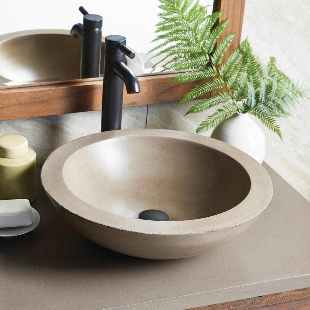 Morro Drop In Bathroom Sinks Sink Concrete Bathroom