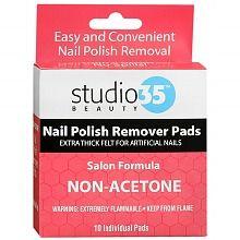 Studio 35 Beauty Nail Polish Remover Pads