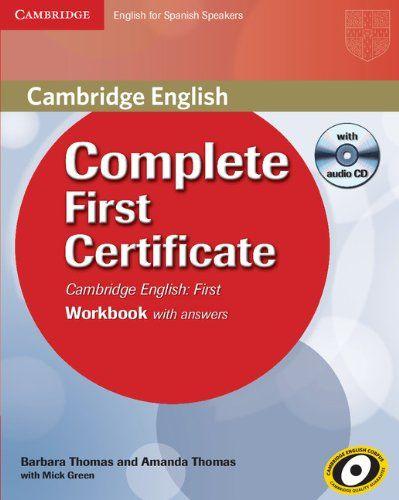 Existencias Complete First Certificate Libros Para Aprender Ingles Lenguas Extranjeras Idioma Ingles