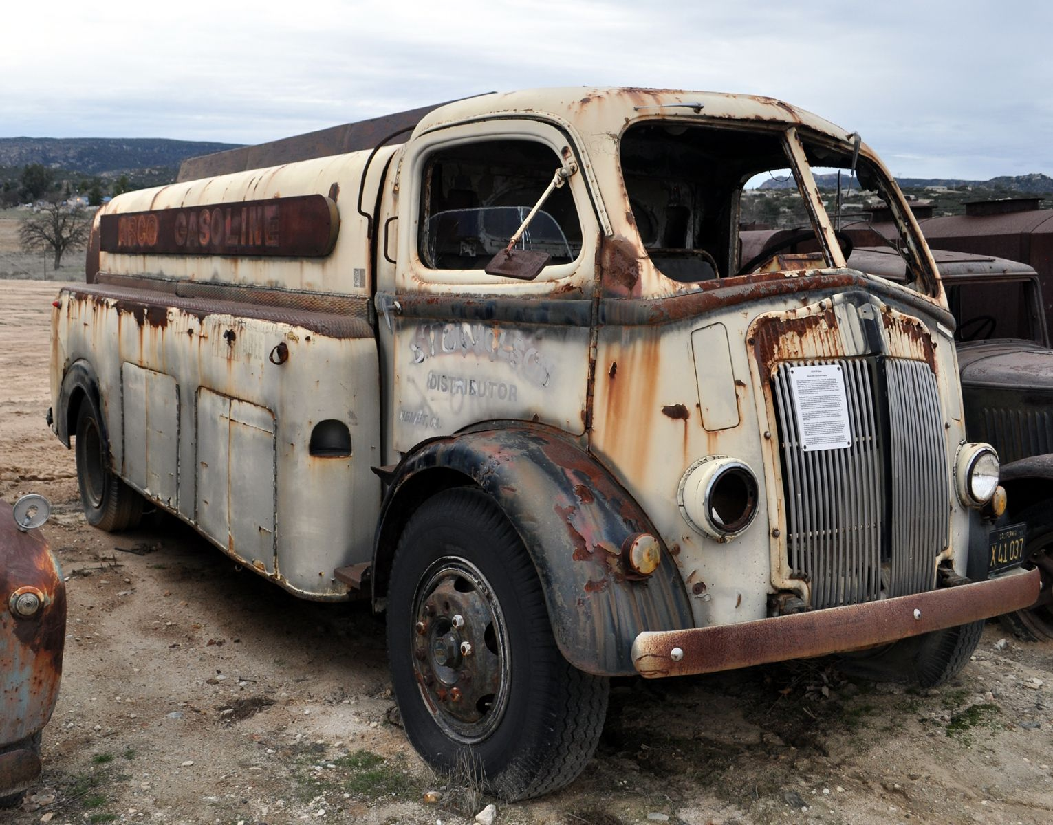 Old GMC Cabover Trucks | Outta GAS??? Would Like to Bring back to ...