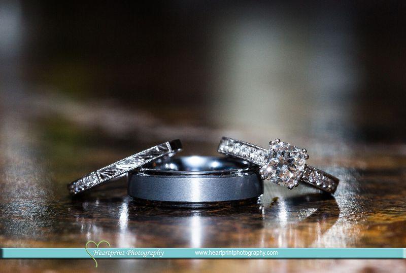 Wedding Ring Shots Heartprint Photography Connecticut