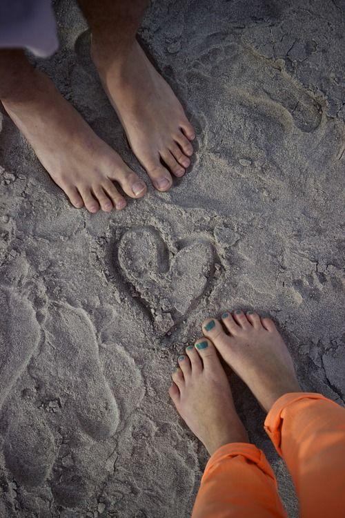 love, beach, heart in the sand, How to Deal When Life's a Beach