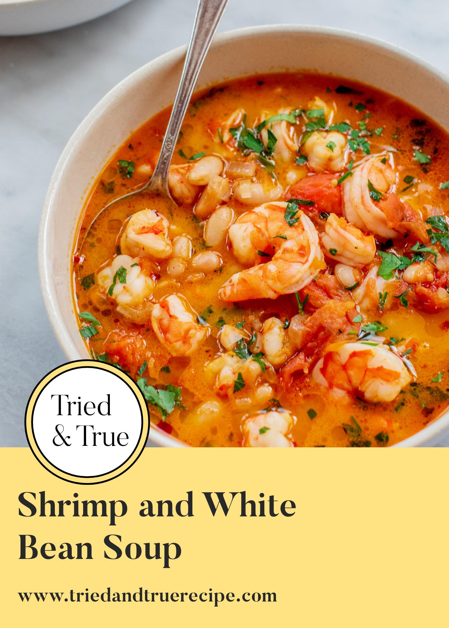 Bean Black Shrimp Soup