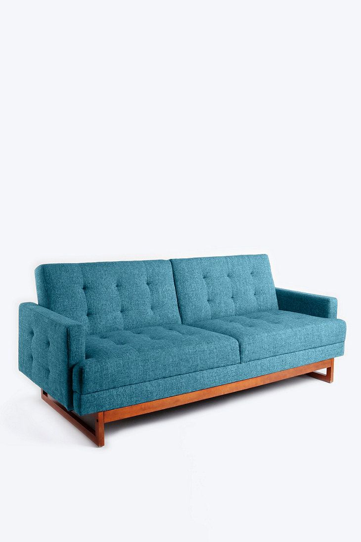 Either Or Sofa Bed In Turquoise Kleines Sofa Sofareinigung Futon Ideen