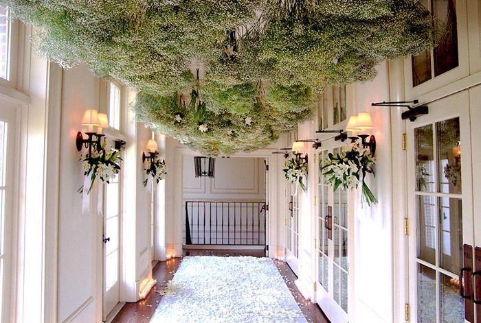 Baby S Breath Gypsophila Babys Breath Wedding Ceiling Decorations Summer Wall Art
