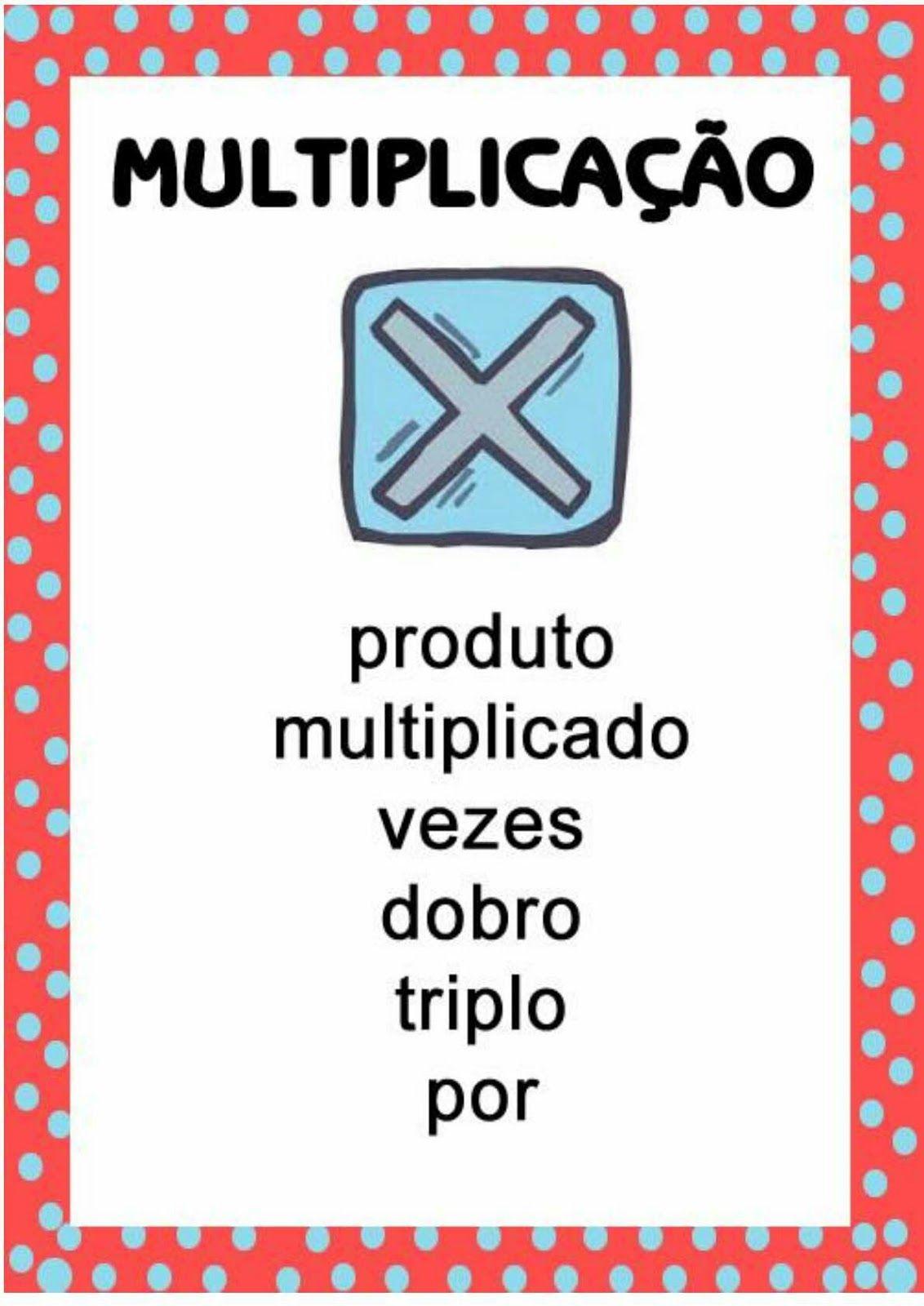 Blog Educacao E Transformacao Cartazes Matematicos Em 2020