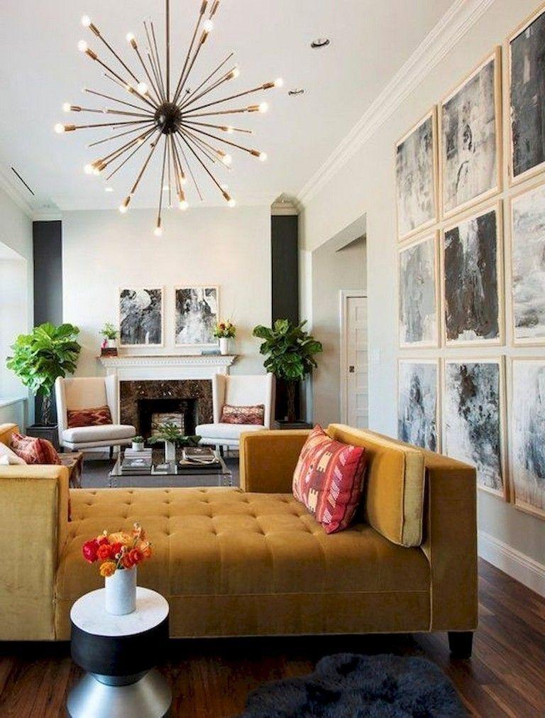46 Amazing Mid Century Modern Living Room Decor Ideas Modern Eclectic Living Room Living Room Decor Modern Eclectic Living Room