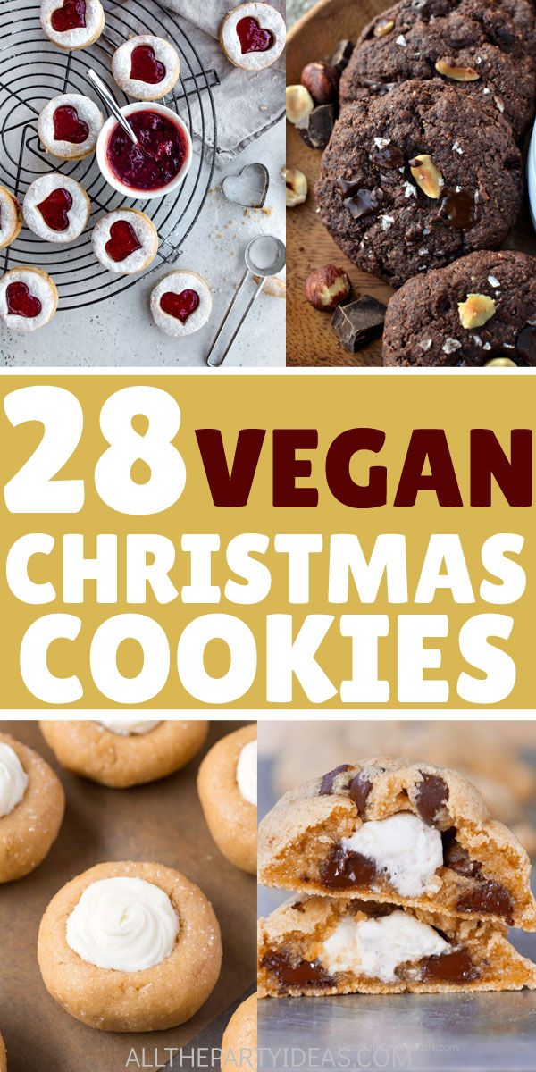 Vegan Christmas Cookie Recipes Easy, delicious VEGAN COOKIES with no eggs or dairy. Best healthy recipes for quick sweets desserts treats. Enjoy holiday meals, gatherings with snack treats that will add to the party menu. Sugar, crinkle, Italian, German, gingerbread, shortbread, meltaway snowballs, pinwheel, snickerdoodles, oatmeal and more. Peanut butter, peppermint,  chocolate vanilla, other flavors. Egg free, dairy free, nut free, gluten free, paleo options