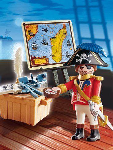 Playmobil 4293 piraten piratenkapit n playmobil - Playmobil basteln ...