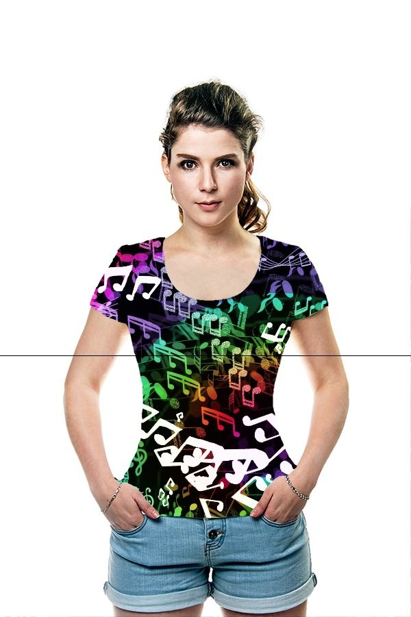 By Serena Howlett. All Over Printed Art Fashion T-Shirt by OArtTee