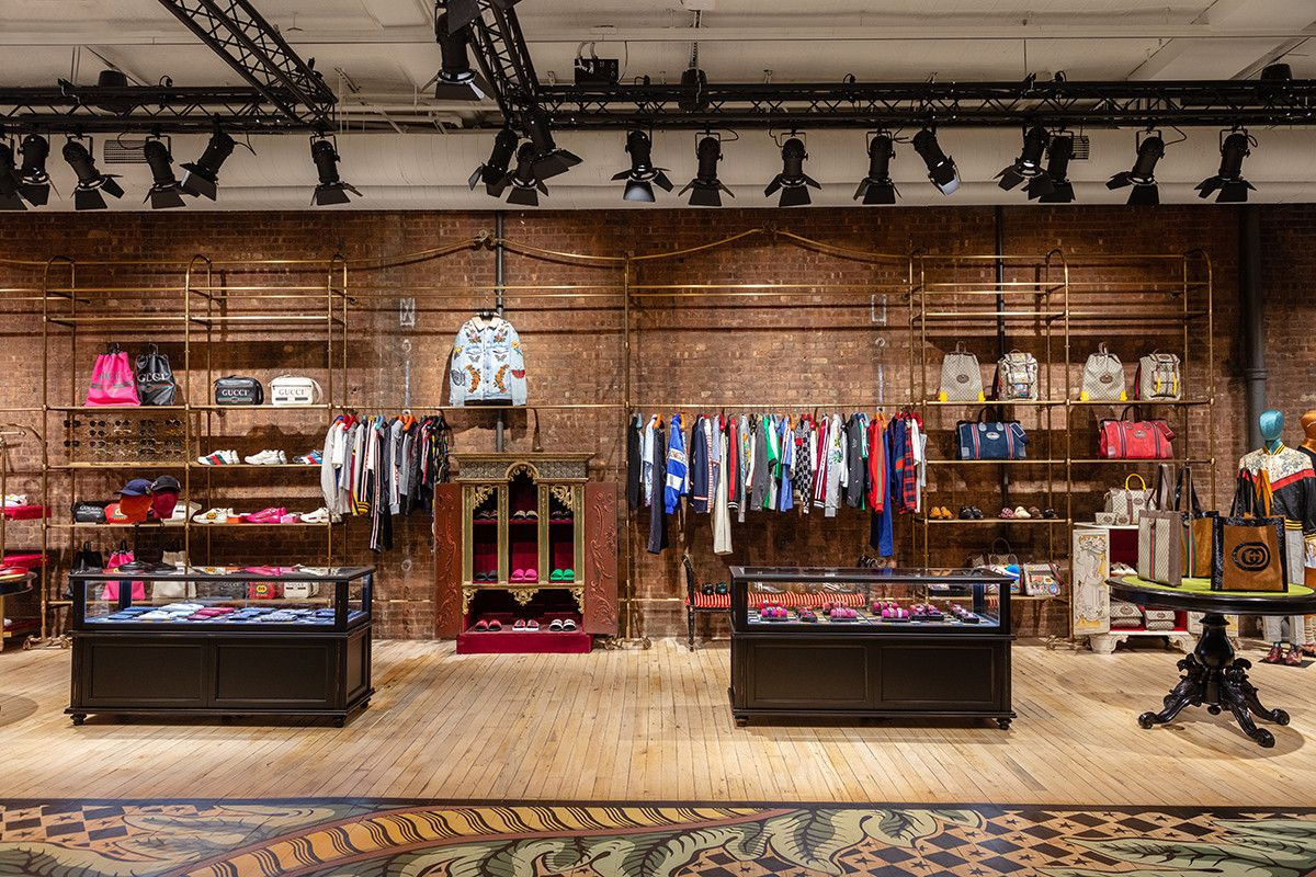 3f5a45a00 Gucci New York City SoHo Wooster Street High Fashion Dapper Dan Exclusive  Opening Stores Interior Design