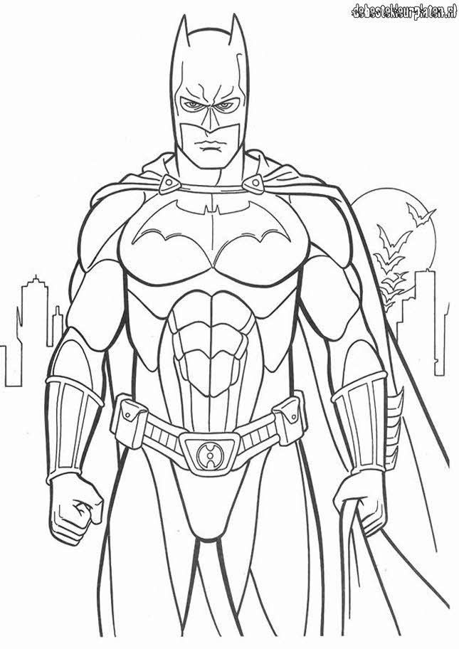 Batman3 - Printable coloring pages Coloring Pages Pinterest - copy coloring pages of batman and superman