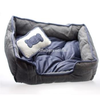 Luxury Pet Bed Dark Blue 39.95 Luxury pet beds