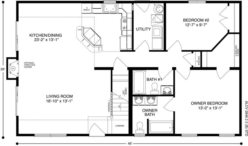 Next Modular Home In The Works Modular Homes Floor Plans Cabin Plans