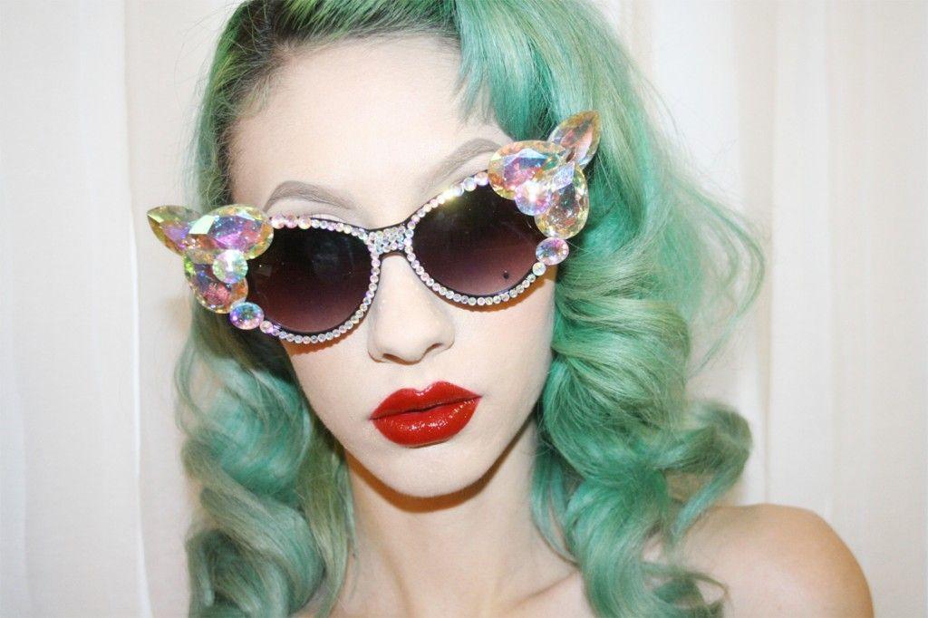 Recently Trendiest Fashion: Hipster Prescription Glasses: Diamon Glasses ~ hipsterwall.com hipster accessories Inspiration