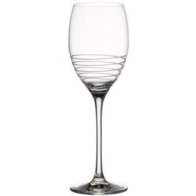 Villeroy /& Boch Collection Maxima Burgundy Goblet Wine Glasses 4 Pack