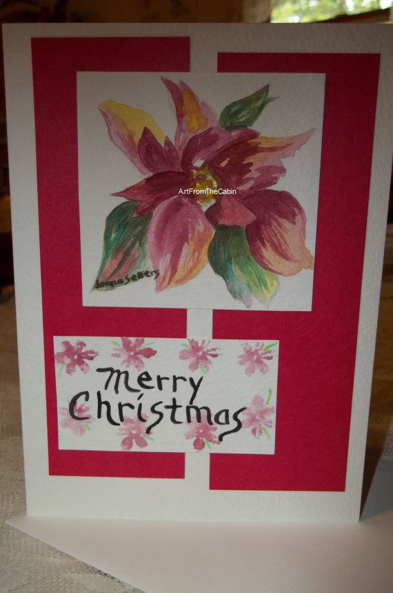 greeting card Christmas card holiday card by ArtFromTheCabin, $6.00