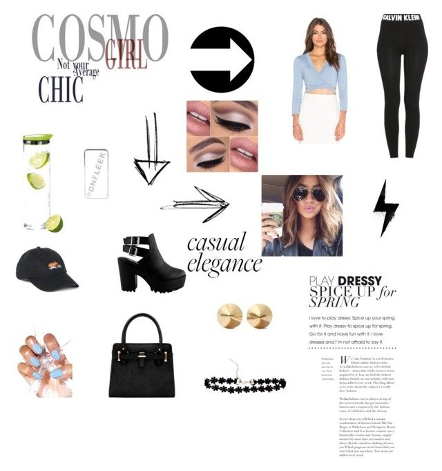 Untitled #83 by scout-erin on Polyvore featuring polyvore, fashion, style, BCBGMAXAZRIA, Calvin Klein, Eddie Borgo, UNIF, River Island, blomus and clothing