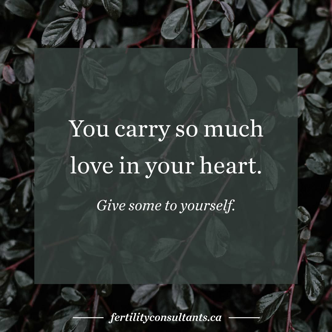 you carry so much love in your heart. Give some to
