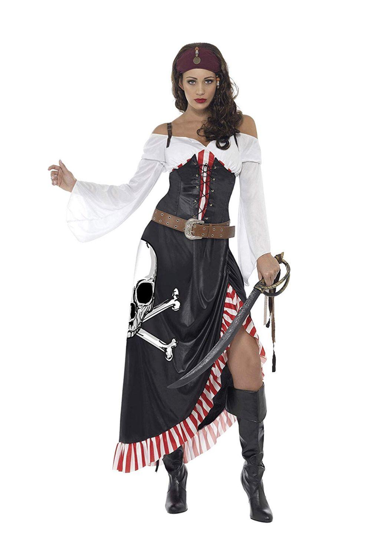 Piratin Kostüm   Pirate fancy dress, Female pirate costume