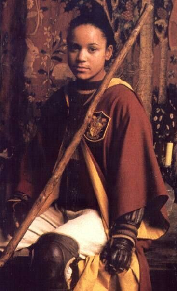 Angelina Johnson Angelique Jansen Played By Danielle Tabor 1984 Harry Potter Characters Harry Potter Harry Potter Girl