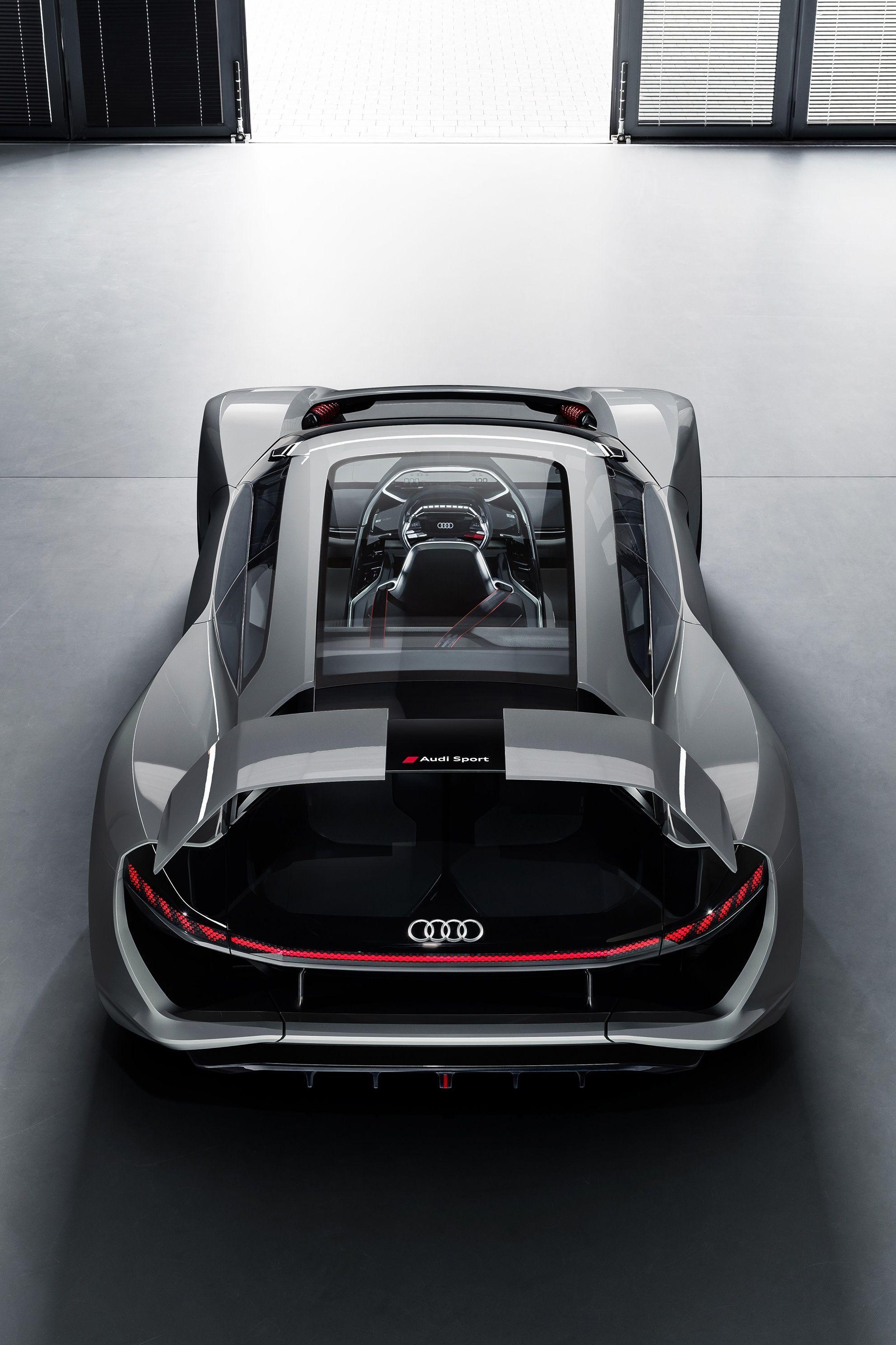 Electric Audi Pb18 E Tron Supercar The Man Audi Ev Supercar Super Cars Super Luxury Cars Audi E Tron