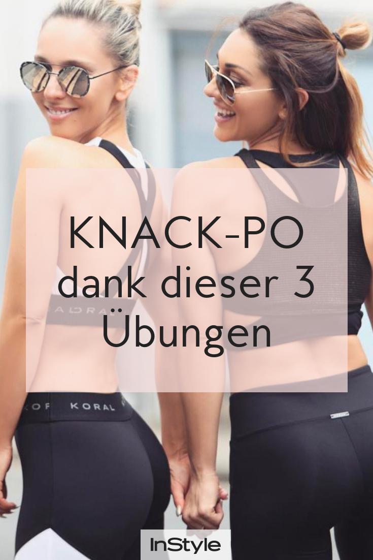 Fitness-Tipps: Wir zeigen dir drei einfache Übungen für einen knackigen Traum-Po! Mit diesen Workout...