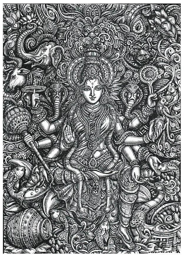 Paramchaintanya Men — INDIAN ART / INDIAN ARTIST WORKS / INDIAN GODS and...