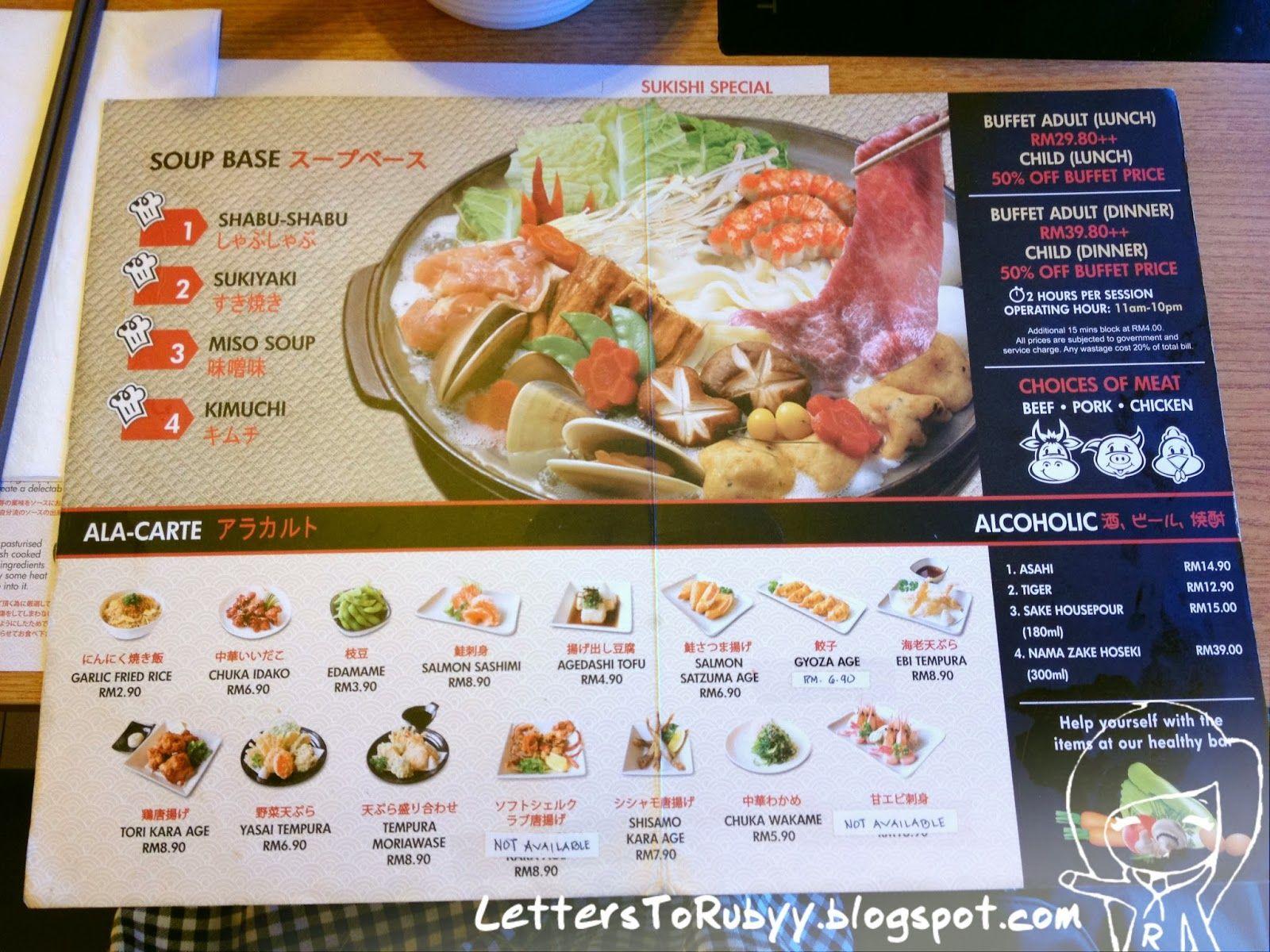 Sukishi Japanese Sukiyaki Buffet Ioi Mall With Images