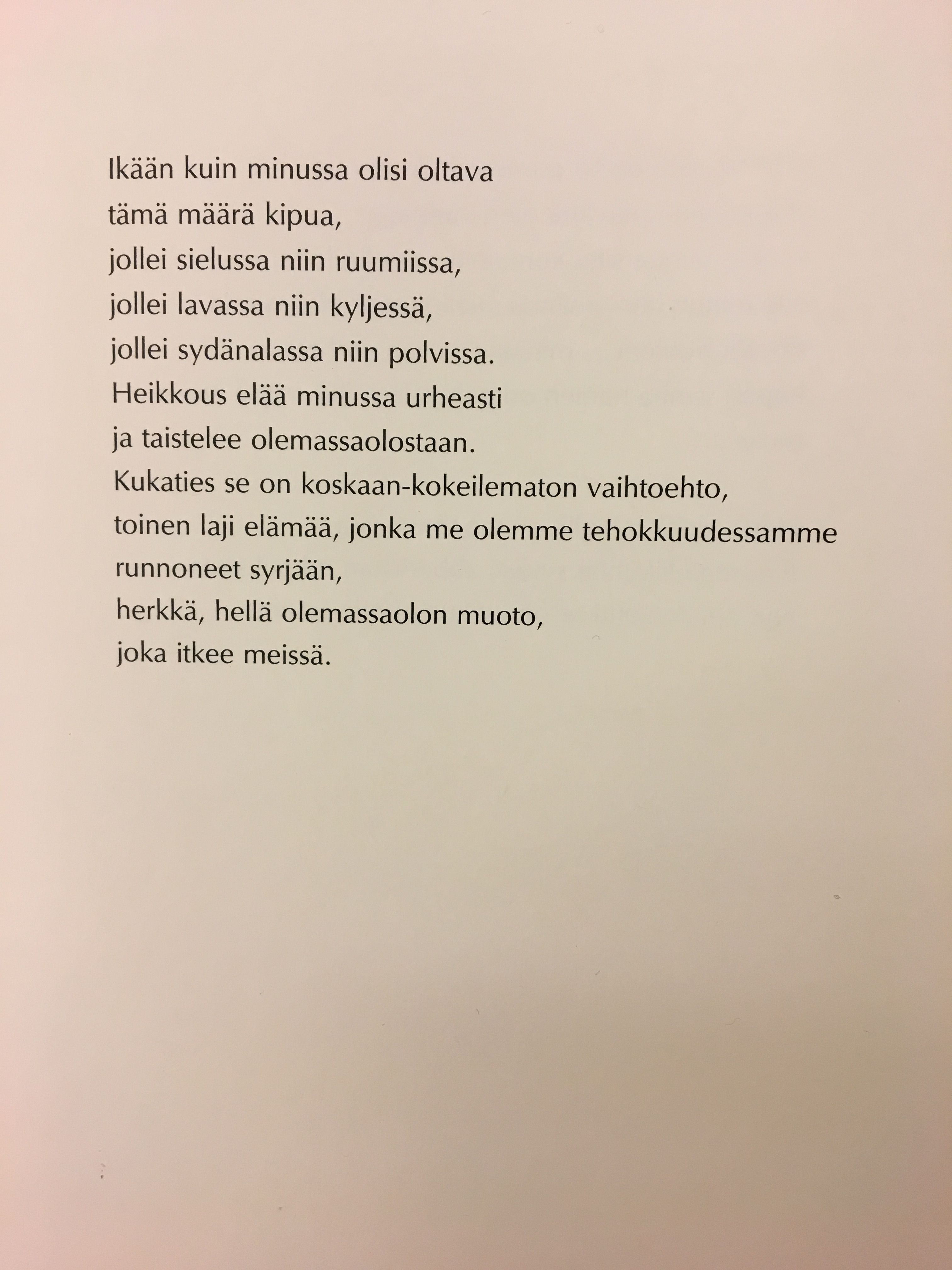 Eeva Kilpi Words Poems Quotes
