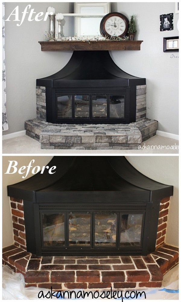 Fireplace transformation with AirStone -- Ask Anna ...