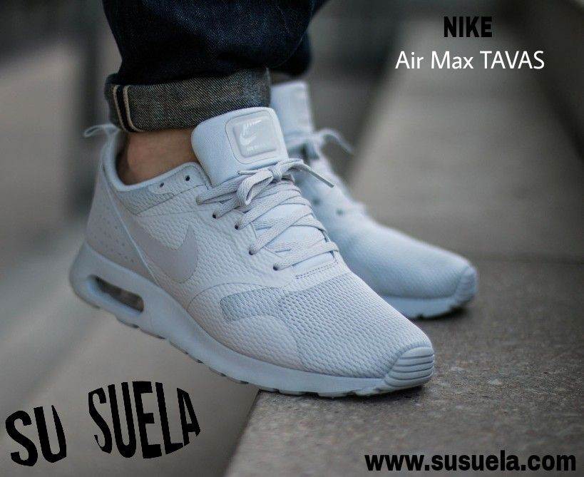 Las Nike Air Max Tavas, nace de la mezcla de dos de sus modelos más