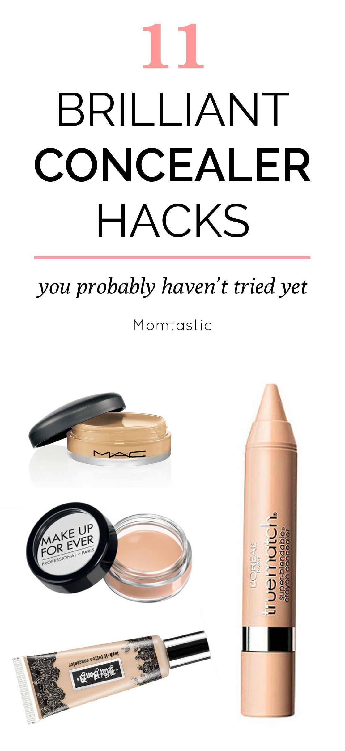 11 Brilliant Concealer Hacks You Probably Haven't Heard Of