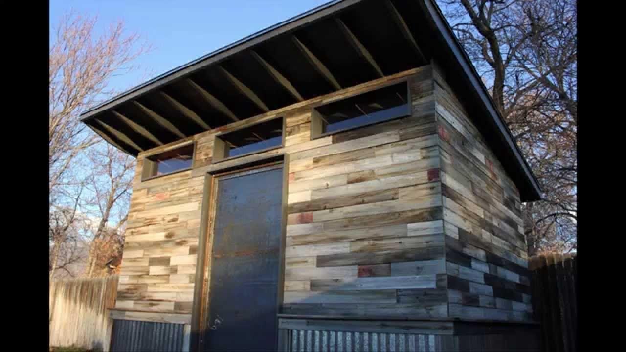 httpwwwkingbirddiycom Build your own 8x12 modern shed with