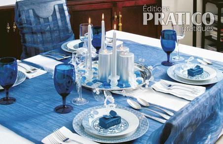 Exemple d co de table de no l bleu et argent no l pinterest noel deco noel et deco table noel - Deco table noel bleu argent ...