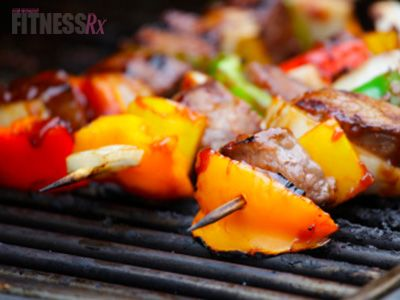 Surf n' Turf Kabobs. Grill Up a Healthy and Delicious Summer Meal