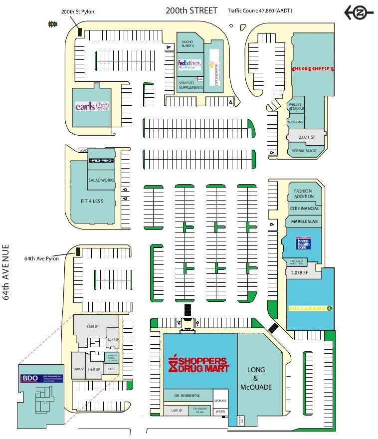 Langley Crossing Shopping Centre shopping plan (With ...