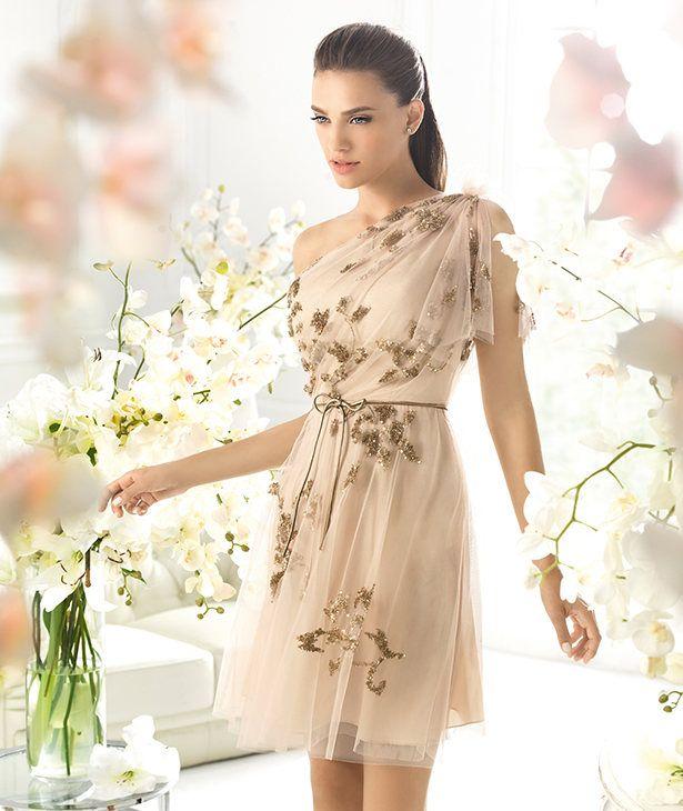 Vestidos cortos romanticos para fiestas