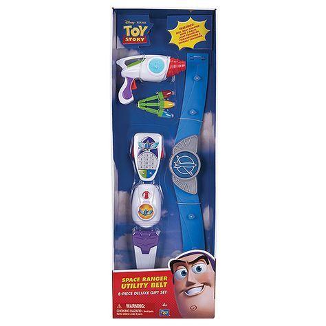 Toy Story 8 Piece Buzz Lightyear Space Ranger Utility Belt Toddler