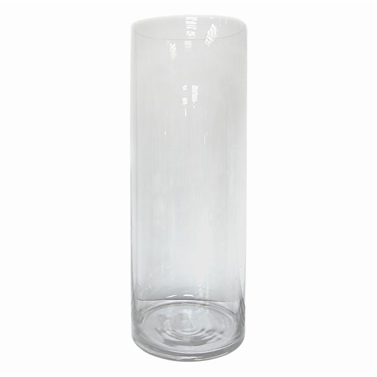 Clear Glass Cylinder Vase 10 X 375 In Centerpieces Pinterest