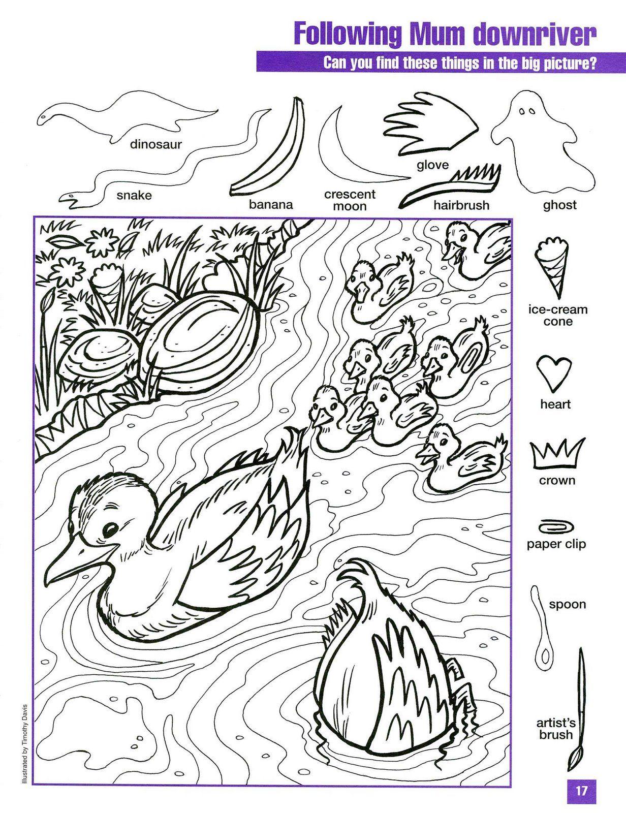 canards · Jeux AnglaisLivre De ColoriageColoriage Pour Les EnfantsColoriage EnfantVilain Petit CanardLe