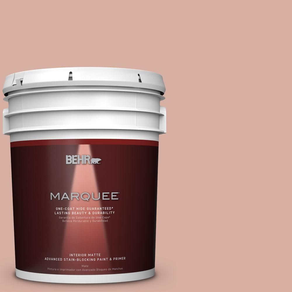 BEHR MARQUEE 5 gal. #S180-3 Flowerpot One-Coat Hide Matte Interior Paint
