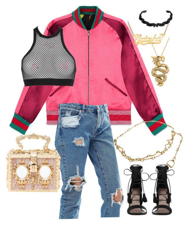 muva looks by anelanaiara on Polyvore featuring polyvore, fashion, style, Dsquared2, Gucci, ASOS, Zimmermann, Dolce&Gabbana, Effy Jewelry and clothing