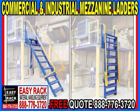 Industrial Mezzanine Ladders On Sale Now Ladder Industrial Mezzanine