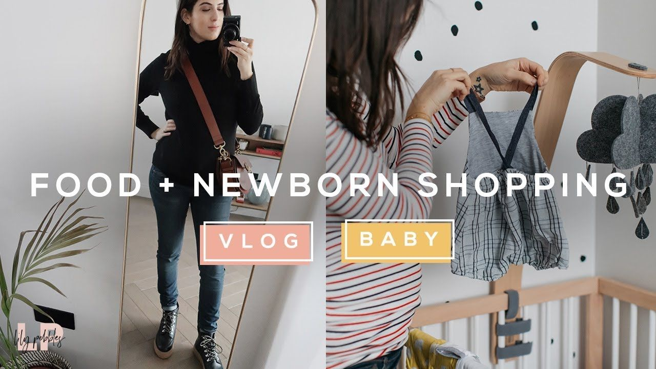 COME SHOPPING WITH ME (FOOD SHOP + NEWBORN ESSENTIALS